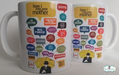 Caneca How I Met Your Mother - Mod . 9