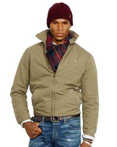 Cotton Landon Windbreaker - Polo Ralph Lauren Cloth - RalphLauren.com