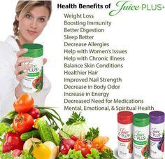 Juice plus fruit and veg capsules. www.torrey.juiceplus.com