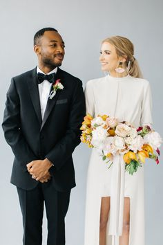 Smiles last a lifetime: http://www.stylemepretty.com/2017/01/05/all-the-inspo-you-need-to-infuse-your-wedding-with-modern-romance/ Photography: Kenzie Victory - http://kenzievictory.com/