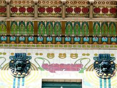 The Finest Examples of Art Nouveau Architecture in Central Europe Line Art Projects, Clay Art Projects, Art Nouveau Architecture, Amazing Architecture, Art Nouveau Design, Art Deco, Design Art, Pop Art Lips, Examples Of Art
