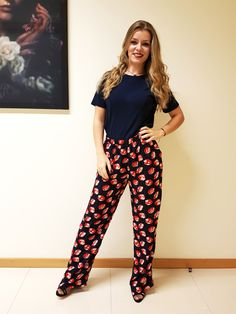 The attractive trousers and T-shirt, made at Com-Prensa.  #fashion #model #photooftheday #color #beautiful #comprensa #clothes #portugal #team #love #work #making #ourdesign #shine #style #attitude #fashionable #create #fashionvictim #barcelos #fashionoftheday