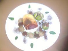 Pèche figues   amandis   noisettes    pomme  et chocolate    Gino D'Aquino