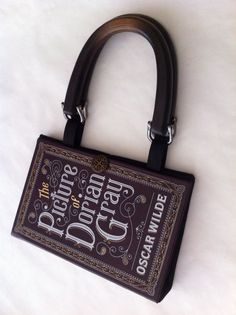 The Picture of Dorian Gray Book Purse by NovelCreations on Etsy, $48.00