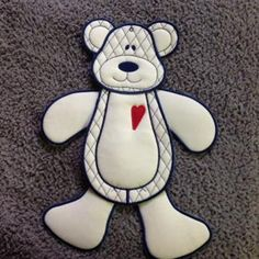 ITH Wall hanging Teddie | Spookies Treasures Wall, Projects, Log Projects