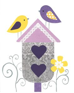 Yellow and Purple Nursery, Garden theme