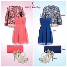 Rose ou bleu?  Roze of blauw? #Elegance by #AnneSophie