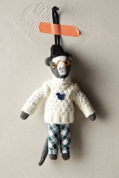 Flashback to 2014 Anthropologie EU Snowy Critter Ornament Anthropologie Christmas, Christmas Decorations For The Home, Christmas Crafts, Christmas Ornaments, Whimsical Christmas, Modern Christmas, Merry Christmas, Holiday Decor, Fiestas