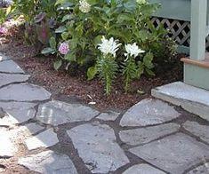 DIY stone pathway instructions