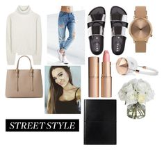 """""""street style"""" by ceciliadennis on Polyvore featuring Proenza Schouler, Billabong, Topshop, Charlotte Tilbury, MANGO, Frends and Diane James"""