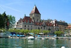 Chateau D'ouchy, Lausanne, Switzerland