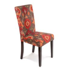 Brown Damask Parsons Chair Kirklands Glam Chic