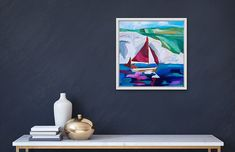 Sailing In Lulworth Cove Lulworth Cove, Sailing, Art, Candle, Kunst, Boating, Art Education, Artworks