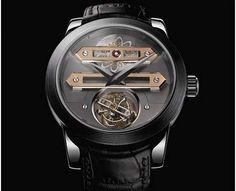 The New White Gold Girard Perregaux Bi-Axial Tourbillon