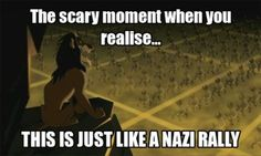 My childhood ruined... >>> mine too, but at least Scar is way much hotter than Hitler