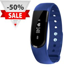 NASKY Heart Rate Monitor Activity Fitness Tracker 4.0 Smart Bracelet Wristband For Smartphone >>> Click image to review more details.