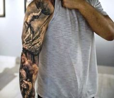 12 Good Sleeve Tattoo Ideas for Men