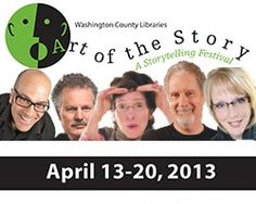 See the full schedule of events at the upcoming Art of the Story: 9th Annual Storytelling Festival