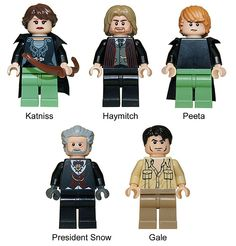 I'm hungry for Hunger Games!!  I can't wait to see an arena made of legos..