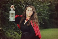 photography by cristin. little red riding hood themed portrait.