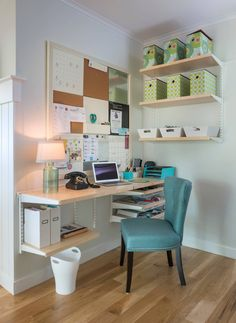home office by Meridian Design Build