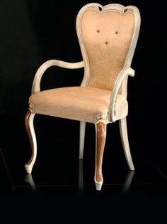 Louis XVI style dining armchair