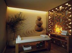 decoração em sala de massagem - Pesquisa Google