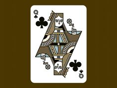 Queen of Clubs by Richard Perez