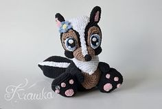 Finished crochet bunny is around 24 cm (9.4 inches) tall.