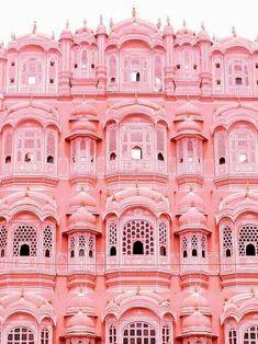 Pink Palace: Jaipur, India