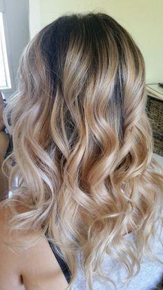 Www.modellookbeautyandhair.com.au  Beautiful curls xo  Beautiful blonde xo