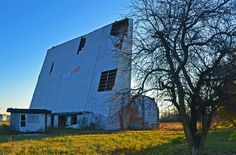 Abandoned drive-in. Muncie, Indiana. I used to go here as a child!