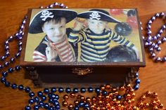 Recycle Reuse Renew Mother Earth Projects: How to make a Pirate Treasure Chest