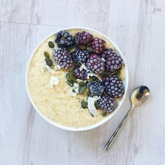 Warming and Comforting Spiced Winter Porridge | Nourish Your Glow