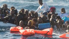 Migrants attempting to cross over to Italy in the Mediterranean, 27 January Europe, Italy, January 2018, Outdoor Decor, Corse, D Day, Objects, Italia