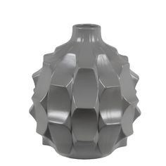 Add some textural appeal to your décor with the Privilege International Modern Ceramic Floor Vase with Glossy Gray Finish . The ceramic vase features. Modern Ceramics, Ceramic Vase, Antique Gold, Modern Contemporary, Stoneware, Glass Vase, Antiques, Lead Edge, Gray