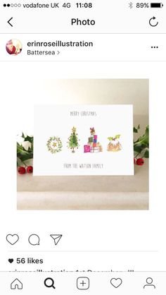 Personalized Greeting Cards, Place Cards, Merry Christmas, Place Card Holders, Merry Little Christmas, Wish You Merry Christmas