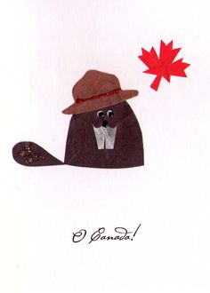 Beaver Card;  Blog  -True North Treasures