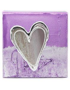 Purple Artbloxx Canvas 01 Silver Wall Art, Small Canvas, Art Uk, Contemporary Art, Purple, Contemporary Artwork, Viola, Silver Wall Decor, Modern Art