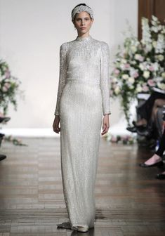 Grace and Glamour from Jenny Packhams Fall 2013 Bridal Collection