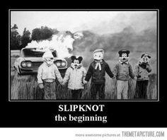 Slipknot, the beginning