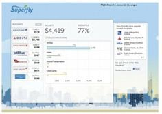 Superfly travel search engine - actually factors all your frequent flier miles into ticket recos! You might be able to fly free and not know it.