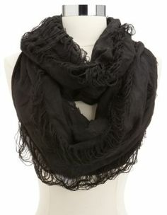 slashed solid infinity scarf 10