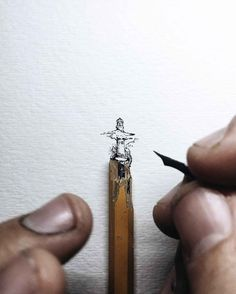 Delicate Ink Drawings on a Miniature Scale by Christian Watson - BlazePress