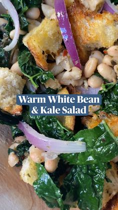 Veggie Dishes, Veggie Recipes, Whole Food Recipes, Vegetarian Recipes, Dinner Recipes, Cooking Recipes, Healthy Recipes, Recipes With Kale, Cooked Kale Recipes