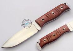 "8.5"" Custom hand Made Beautiful D2 tool steel Skinning hunting Knife (AA-0374-2) #KnifeArtist D2 Steel, Tool Steel, Damascus Blade, Fixed Blade Knife, Hands, Tools, Beautiful, Modern, Hunting"