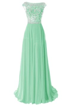 Mint Green Prom Dress,sparkly Evening Dress,2017 Prom Gown,sparkle