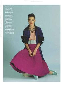 Dovile Virsilaite for IO Donna magazine (2012) photo shoot by Pierre Even  #CaroleColombani #DovileVirsilaite #ElisaNalin #IODonna #JosephPujalte #PierreEven