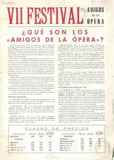 [A Coruña : Amigos de la Ópera], D.L. 1959 Vii, Words, Hobbies, Destiny, Girlfriends, Antigua, Horse