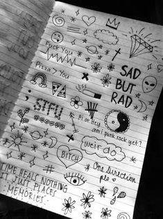 Sad but Rad✌? shared by mayasezen on We Heart It Sad but Rad✌? shared by mayasezen on We Heart It Sad Drawings, Mini Drawings, Cool Art Drawings, Pencil Art Drawings, Doodle Drawings, Art Drawings Sketches, Doodle Art, Trippy Drawings, Lyric Drawings